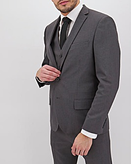 James Charcoal Regular Fit Value Suit Jacket