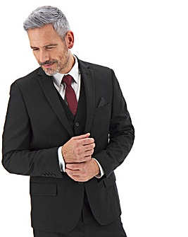 James Black Regular Fit Value Suit Jacket