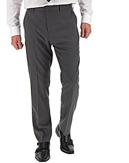 James Charcoal Regular Fit Value Suit Trousers