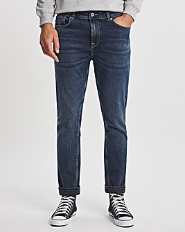 Premium Blackwash Slim Leg Jean