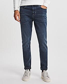 Premium Dark Wash Tapered Fit Jean