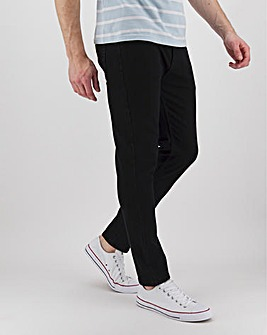 Black Skinny Fit Stretch Jeans