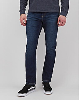 Darkwash Slim Fit Stretch Jeans