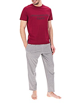 Permanently Tired Tee and PJ Pant Set