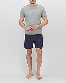 Grey/Navy T-Shirt and Short Set