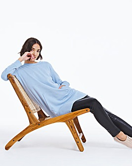 Light Blue Better Sweat Tunic