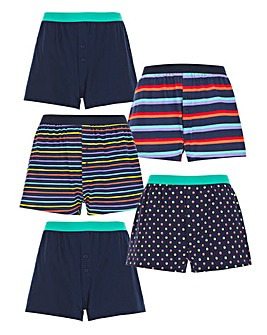 Pack of 5 Loose Boxers