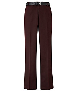 Black Label Atlas Slim Belted Trouser 33 inch