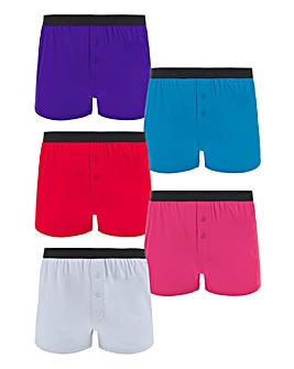 Pack of 5 Brights Loose Boxers