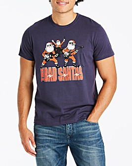 Joe Browns Bad Santas T-Shirt Long