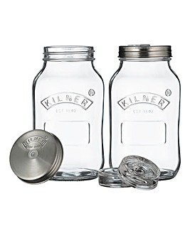 Kilner Set of 2 Fermentation Jars