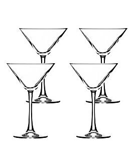 Ravenhead Entertain 4 Martini Glasses