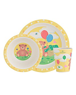 Viners Kids Bertie Bear Dinnerset