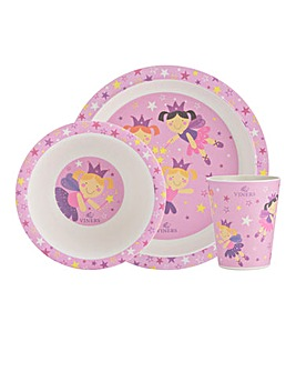 Viners Kids Fairies Dinnerset