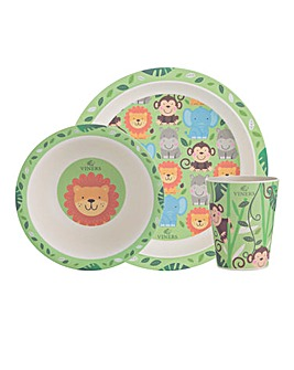 Viners Kids Jungle Dinnerset