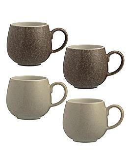 Reactive Mugs Set of 4