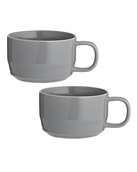 Cafe Concept Cappuccino Mugs Set