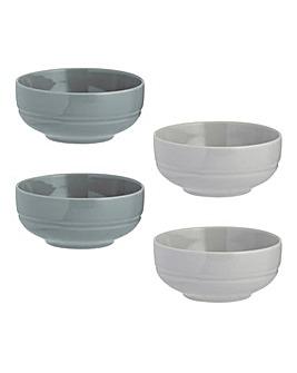World Foods Prep Bowls Set of 4