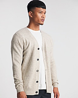 Oatmeal Cosy Knitted Cardigan