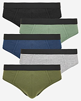 Pack of 5 Briefs Multi