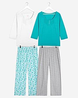 Pretty Secrets Pack 2 Pyjamas
