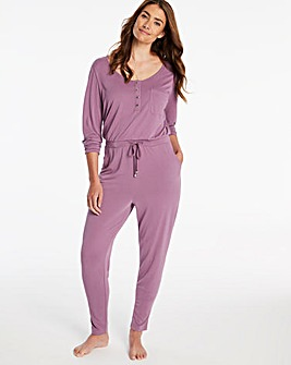 Pretty Secrets Luxury Supersoft Long Sleeve Jumpsuit