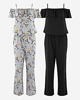 Pretty Secrets Value 2 Pack Jumpsuits