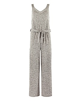 Pretty Lounge Knitted Wide Leg Jumpsuit