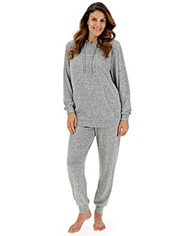 Pretty Lounge Knitted Hooded Set