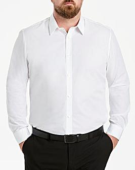 W&B London White L/S Forward Shirt R