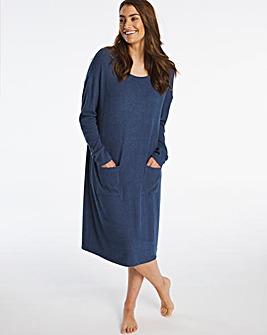 Pretty Secrets Knitted Rib Lounge Dress