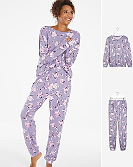 Pretty Secrets Super Soft Lightweight Fleece Twosie