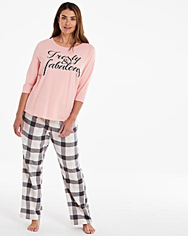 Pretty Secrets Scrunchie PJ Set