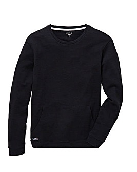 Lacoste Long Sleeve Pocket Crew