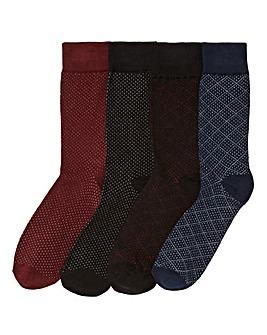 Jack & Jones Pack of 4 Socks