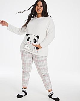 Pretty Secrets Panda Fleece Gift