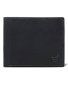 Timberland Black Leather Wallet