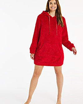 Pretty Secrets Sparkle Fleece Hooded Tunic
