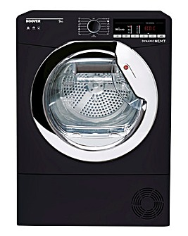 Hoover Dynamic Next 9kg Condenser Tumble Dryer Black