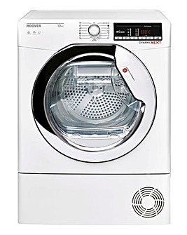 Hoover DXO C10TCE Dynamic Next 10kg Condenser Tumble Dryer White + INSTALL