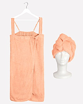 Pretty Secrets Value Shower Wrap and Turban