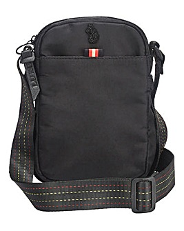 Luke 1977 Black Fernau Cross Body Bag