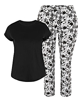 Pretty Jersey Short Sleeve PJ Set