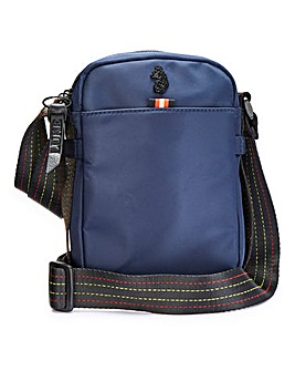 Luke 1977 Navy Fernau Cross Body Bag