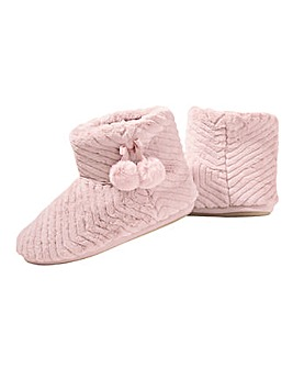 Monsoon Quilted Slipper Boots