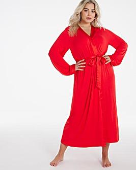 Pretty Secrets Viscose Satin Trim Gown