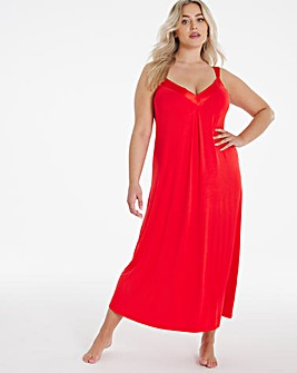 Pretty Secrets Viscose Satin Trim Nightie