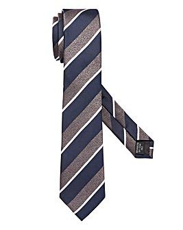 Capsule Navy Stripe Tie