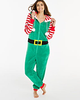 Pretty Secrets Christmas Elf Onesie