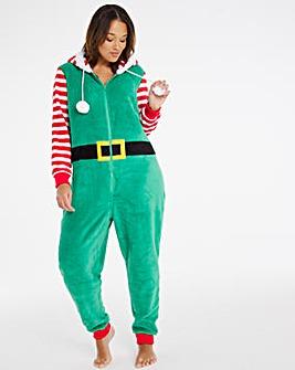 Pretty Secrets Christmas Elf Onesie